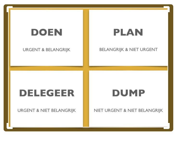 werk slimmer organiseren